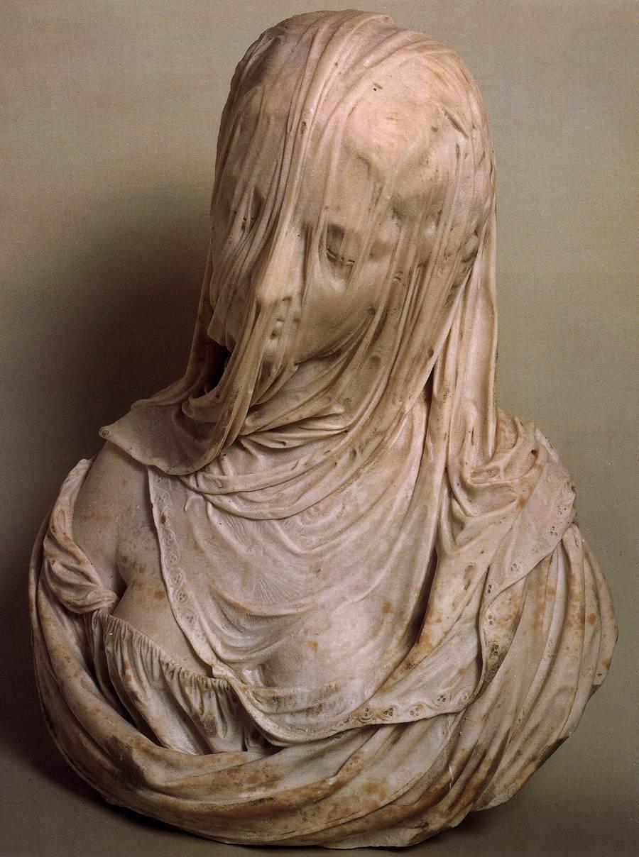 Artwork of the day:    Antonio Corradini  (1717-1725)   Astoundingly good sculpture