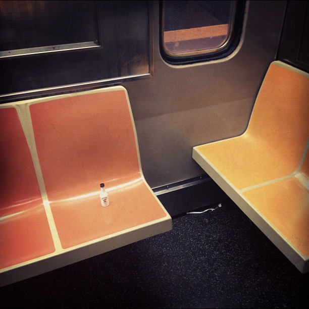#Remnants on the #subway
