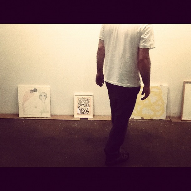 New show going up. Opening on the 21st. #loftlyfe #bushwick #art #artstagram  (Taken with  Instagram  at English Kills)