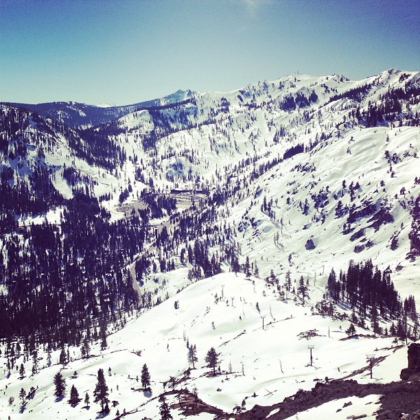 at Squaw Valley Ski Resort