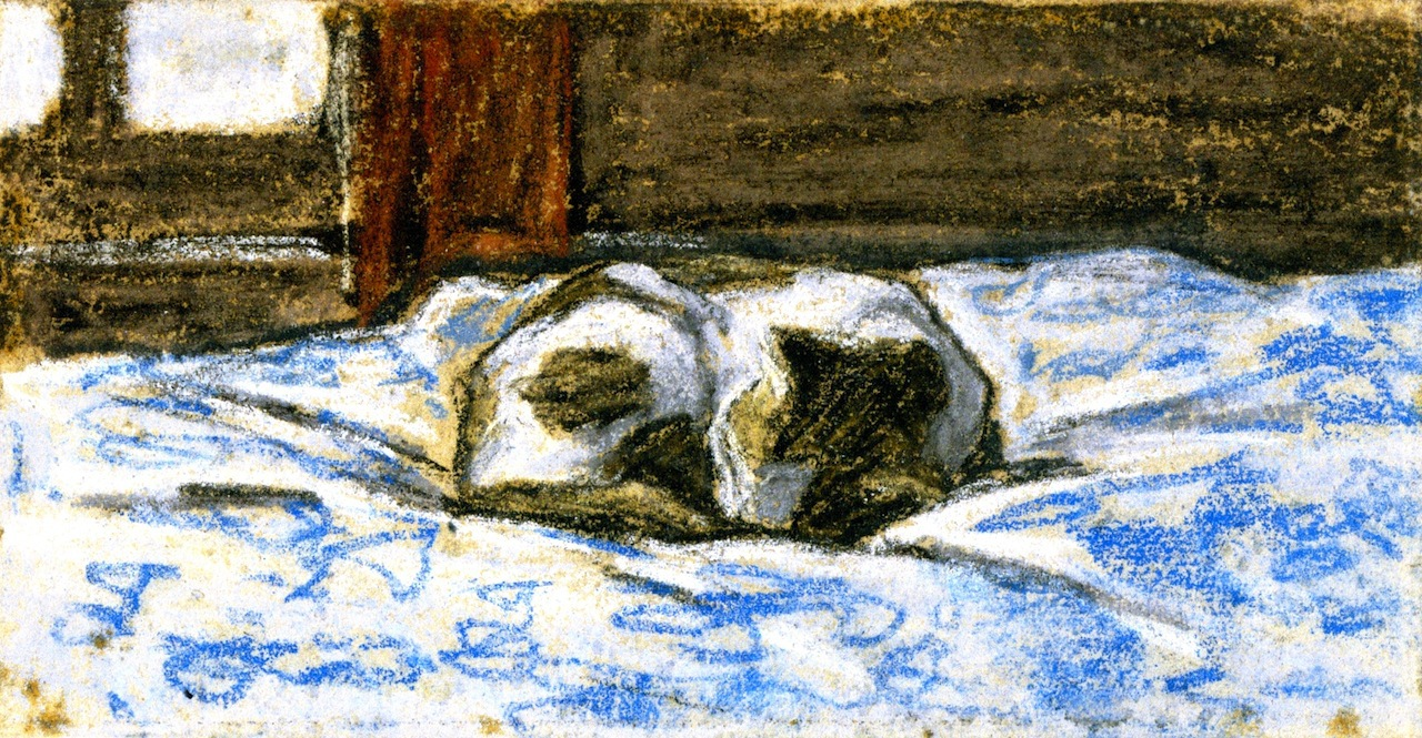 Monet       even before the internet, people were all about making pictures of catz