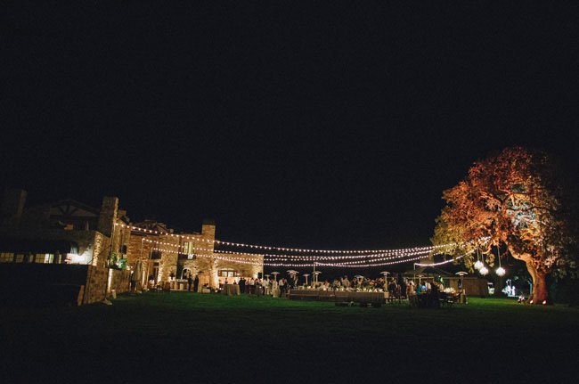 Lighting at Sunstone Winery