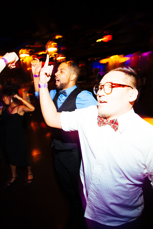 Haute Mobile Disco and the bowtie party