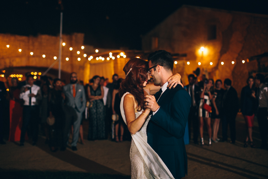 The First Dance is a time to take in the love and music choice.