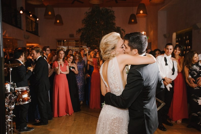 Nicholas Gonzalez and Kelsey Crane's first dance @ Fig & Olive