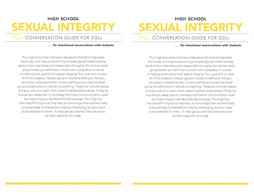 Sexual Integrity Page 1