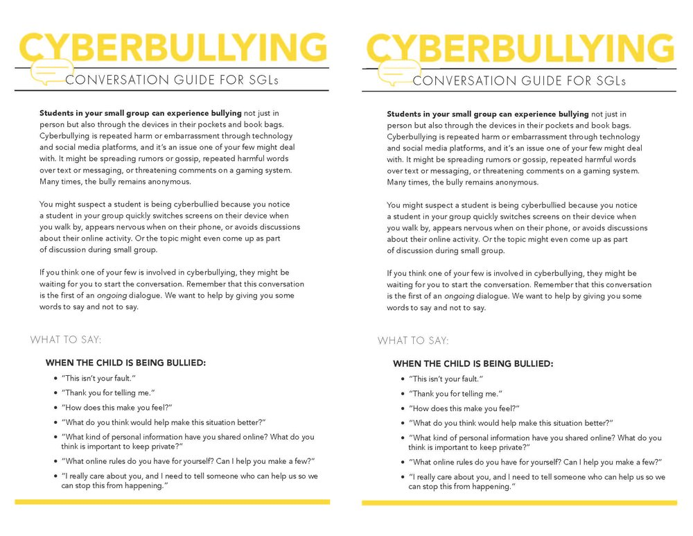 Cyberbullying Page 1