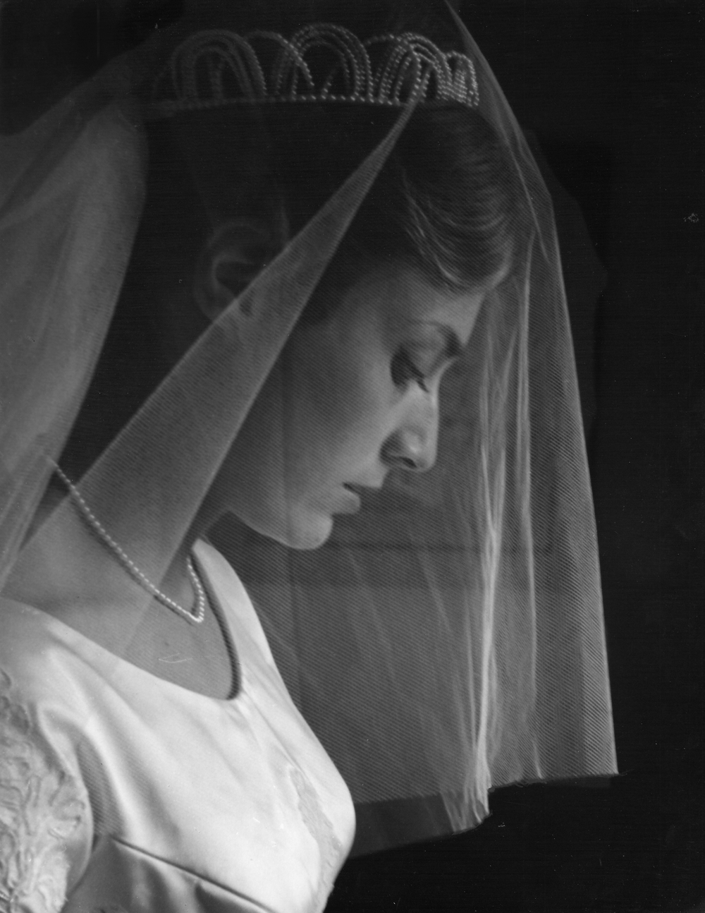 My mother, photographed by my grandfather on her Wedding Day