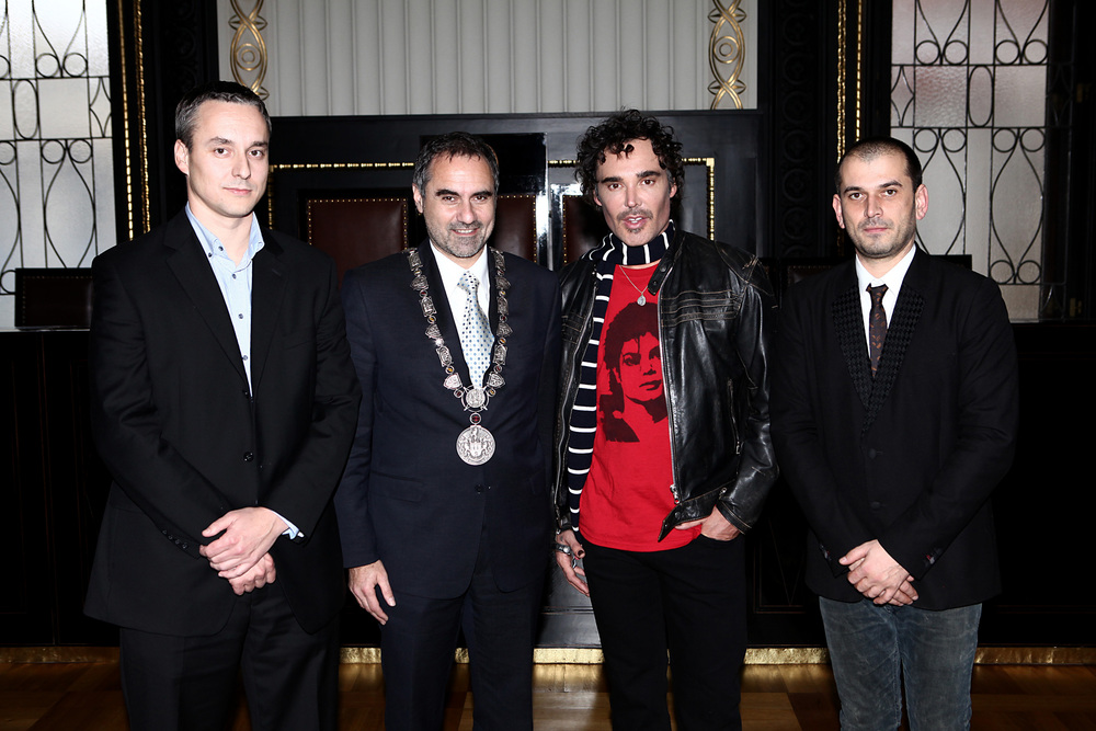 David LaChapelle Visits the Mayor of Prague