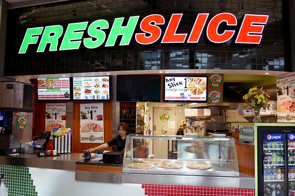 Fresh Slice: Home of the Homeless Guy's Asshole