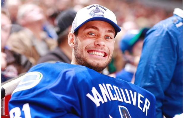 The lovable enthusiasm of one Eddie Lack.