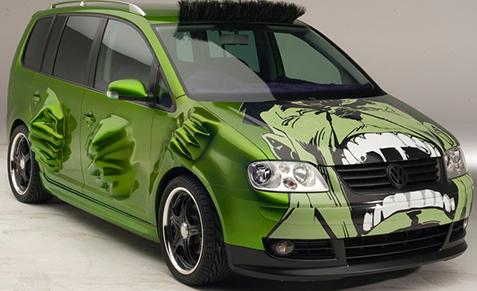 Bow Wow's Hulk car from Tokyo Drift.
