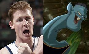 Shawn Bradley of Space Jam fame.