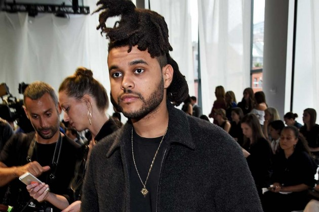 The Weeknd and his hair.