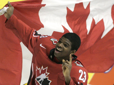 P.K. Subban, incredibly exciting with the Canada's WJC teams.