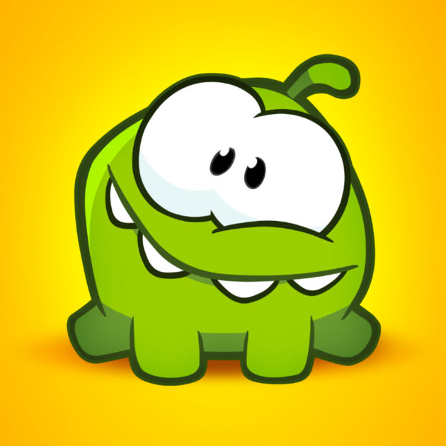 "Om Nom from ""Cut the Rope"""