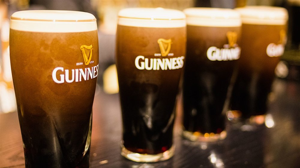 Guinness: the beer with notes of chocolate