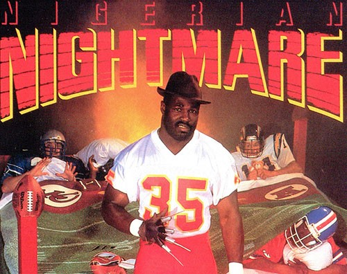 Christian Okoye: Nigerian Nightmare
