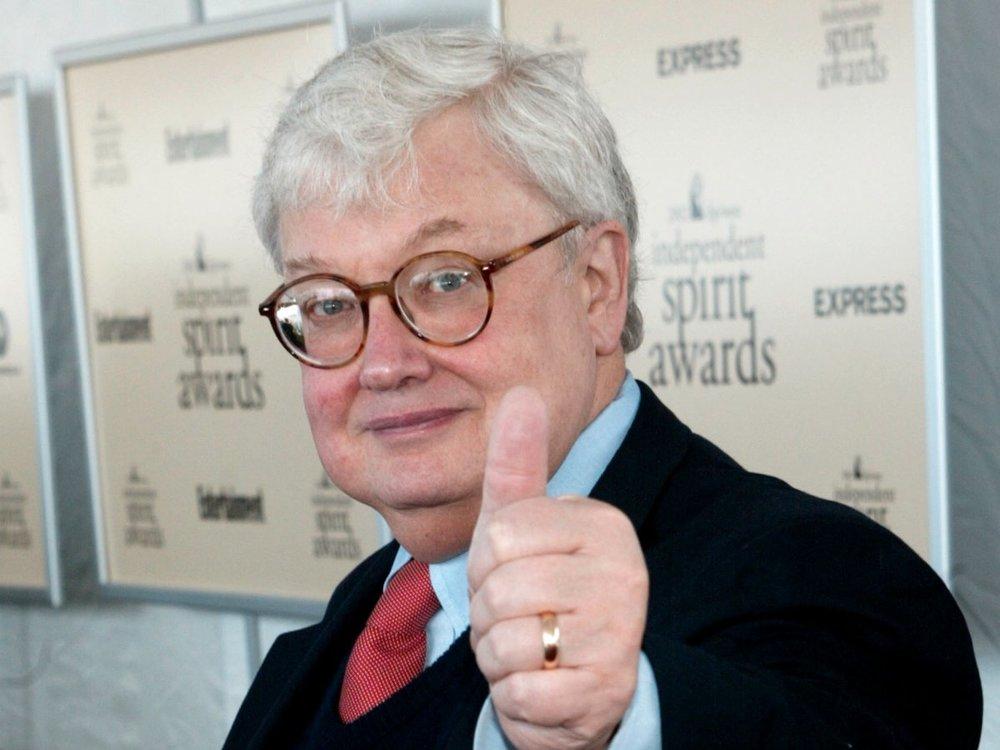 Roger Ebert's thumb