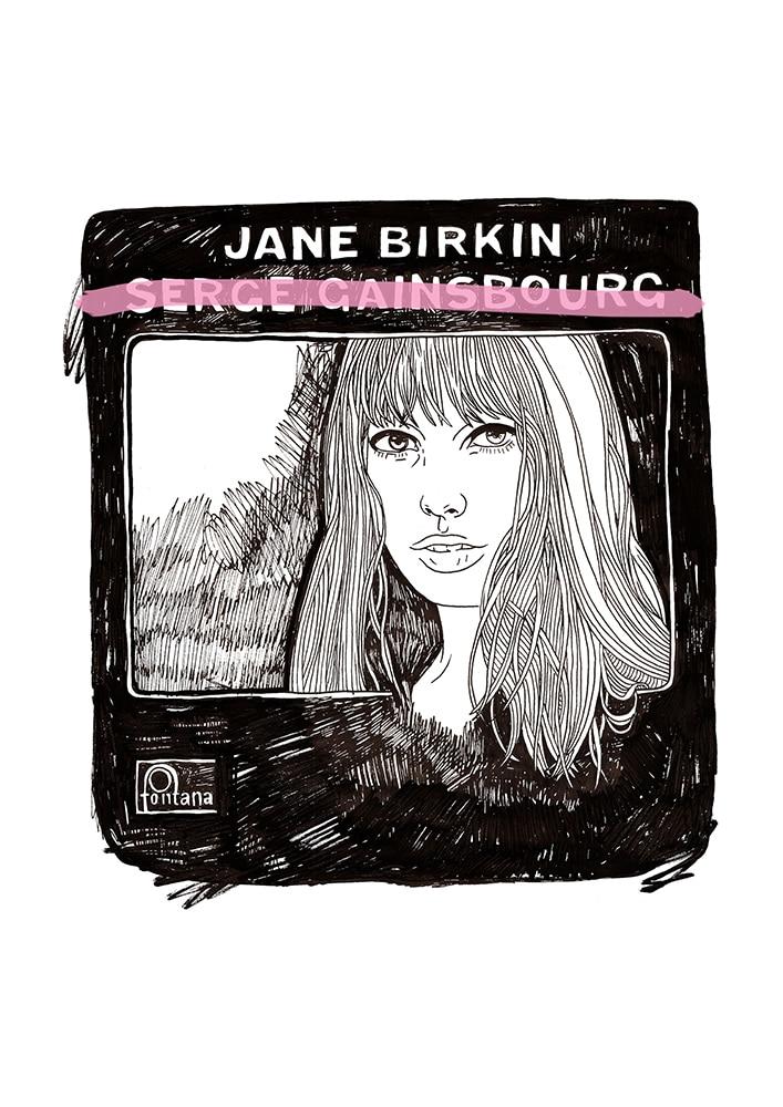 Jane Birkin by  Sophie Ward