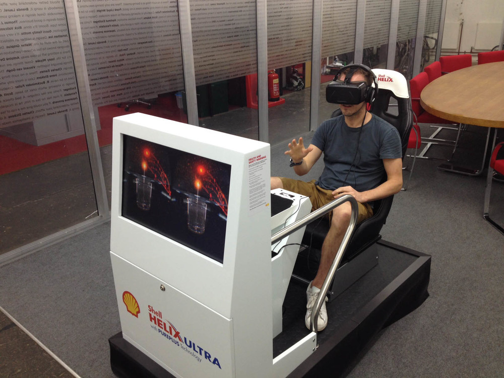 SHELL HELIX ULTRA   NEW VIRTUAL REALITY EXHIBITS