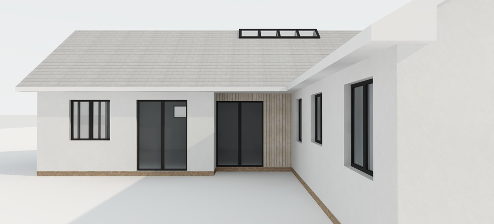 Concept design for an extension to a bungalow in Somerset — Nick ...