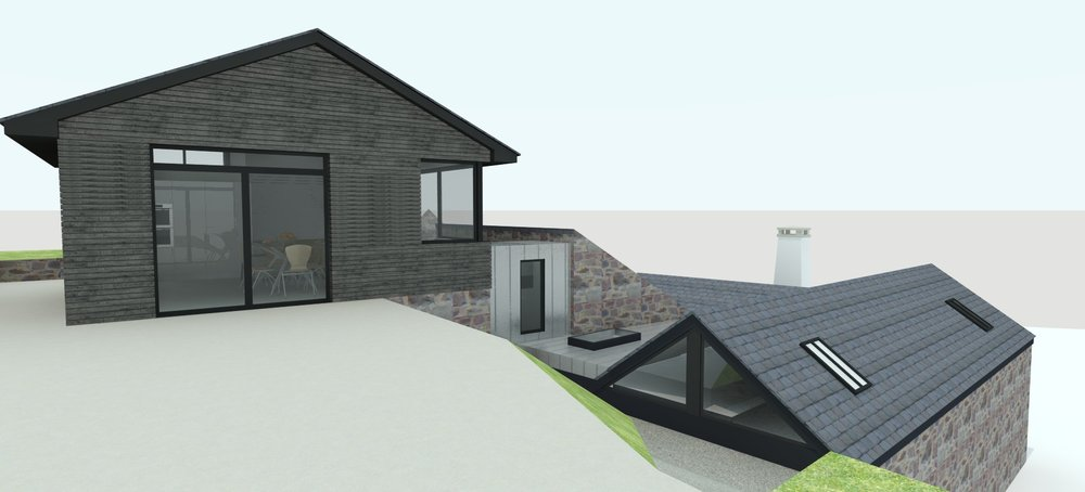 contemporary extension exmoor somerset planning