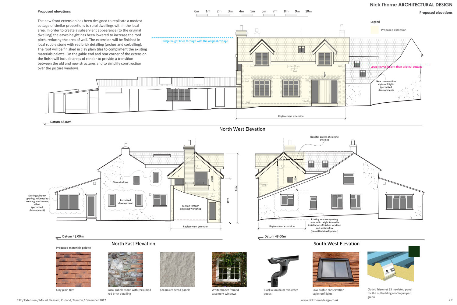 Planning approval granted for a two storey front extension in an ...
