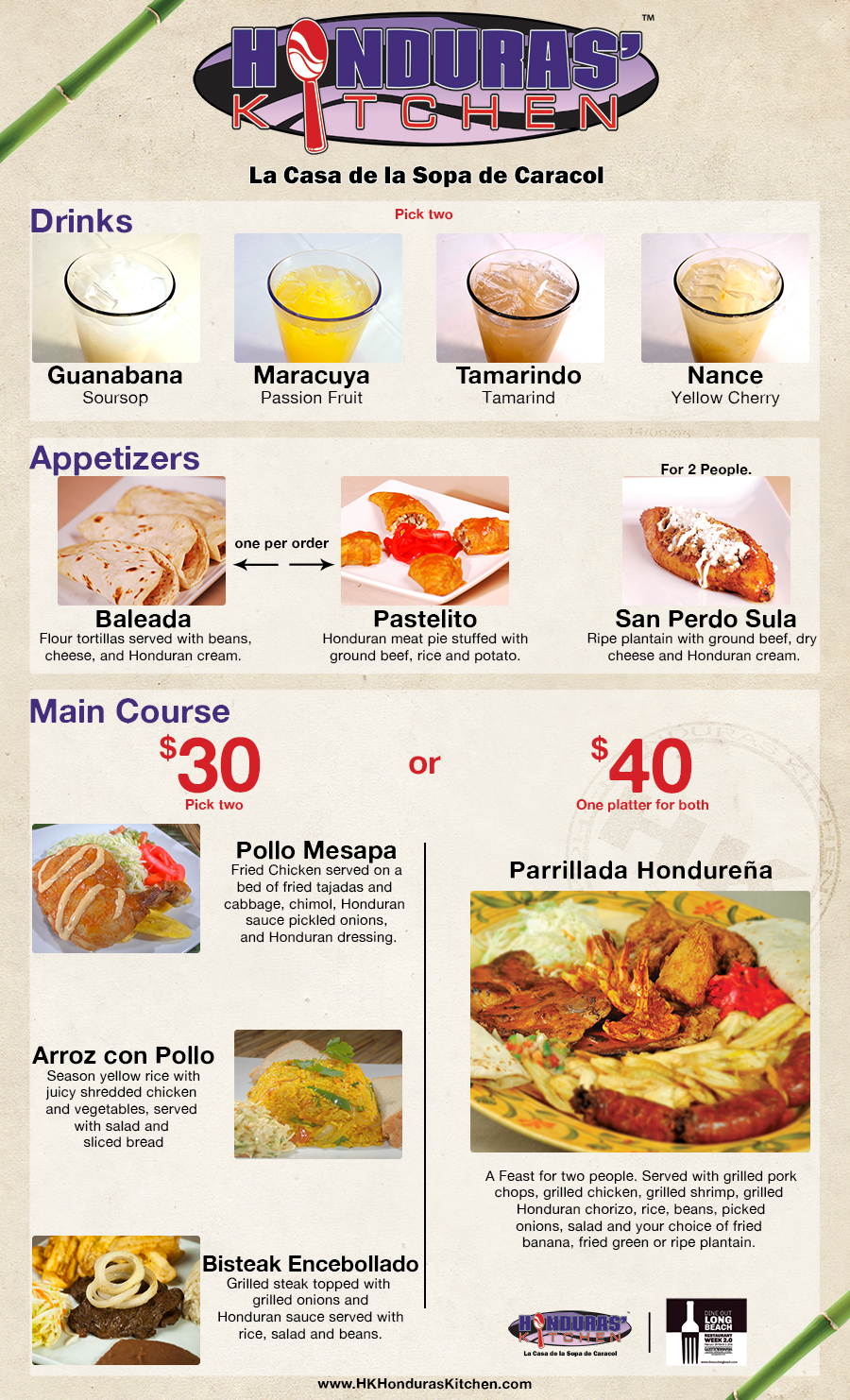 Honduras Kitchen Restaurant