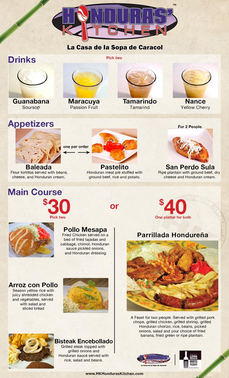 Dine Out Long Beach — Honduras Kitchen