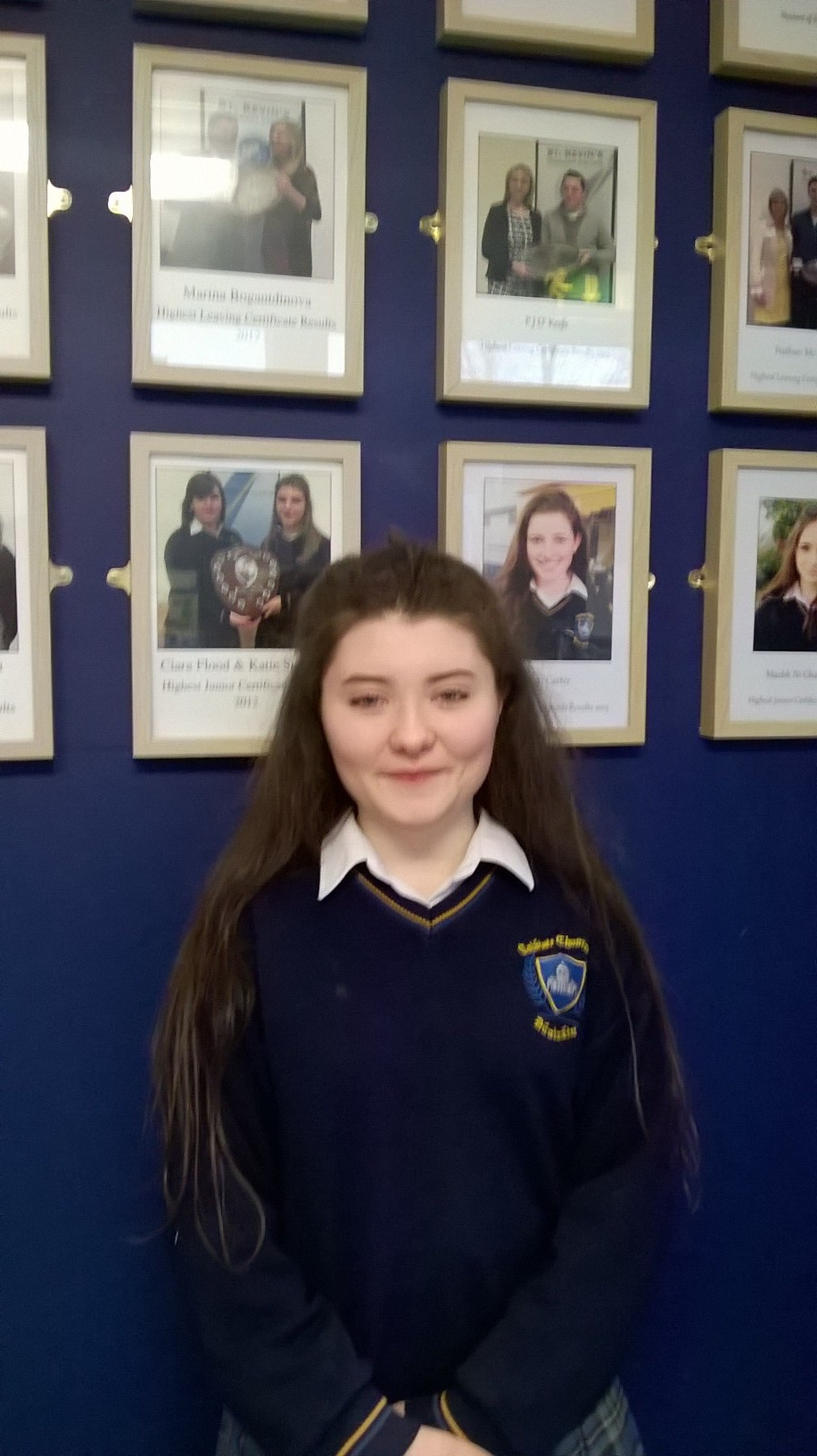 Well done to Nuala Whittle, winner of this year's Poetry Aloud competition