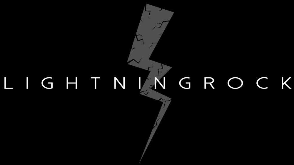 Lightning Rock Logo (white on black).png
