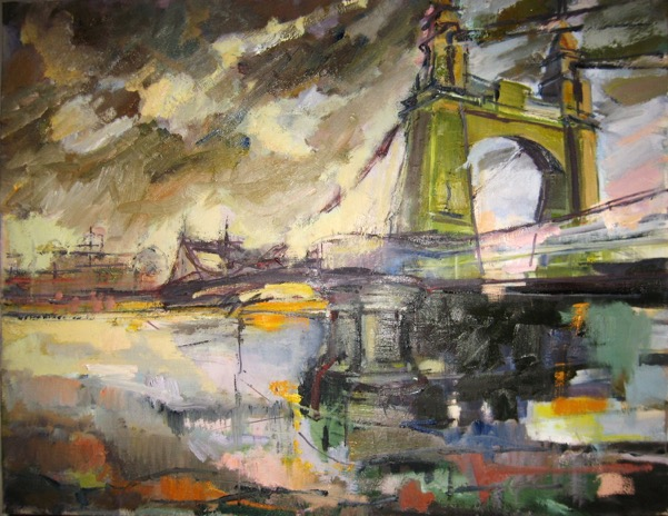 Hammersmith V - Work in Progress  - Oil on Canvas - 90x70.jpeg
