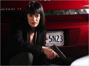 Paget Brewster on Criminal Minds