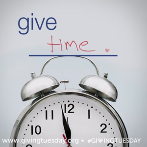 GIVING TUESDAY   After Black Friday and Cyber Monday, try Giving Tuesday