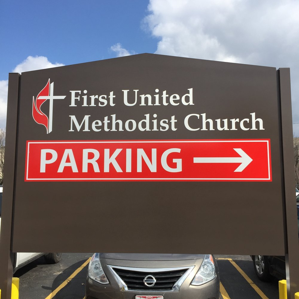 For our business meeting, walk North on Lafayette Boulevard 2 blocks until you see this sign.