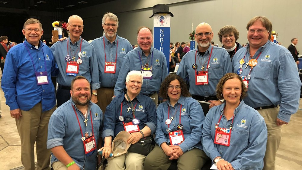 Denim Shirt Day for EDNIN at #GC79 (July 2018)