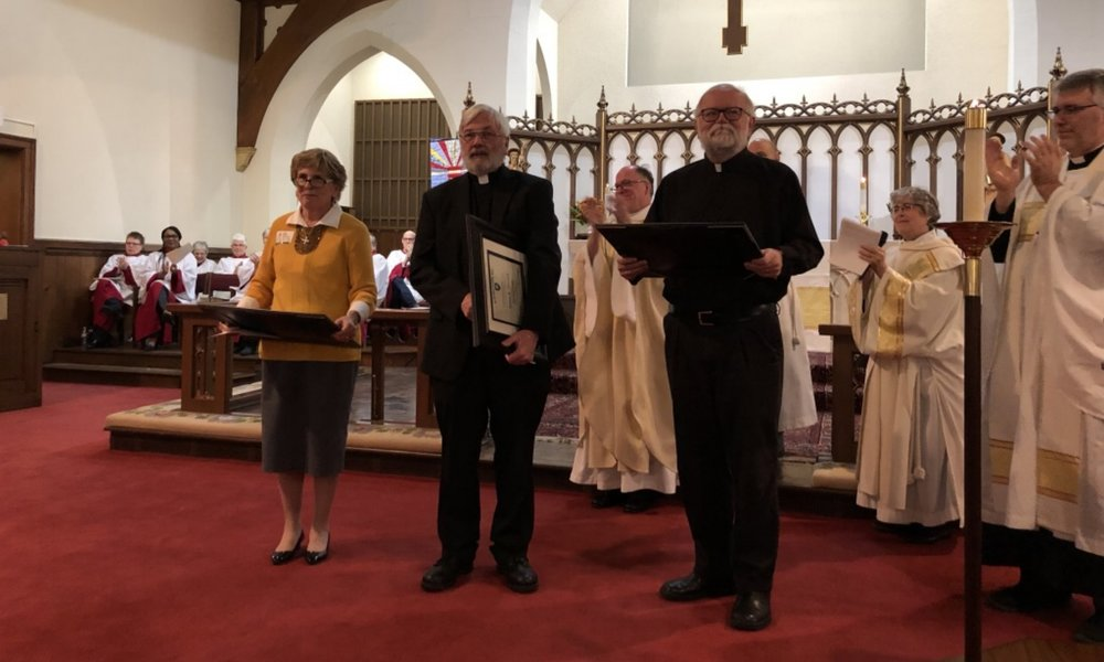 2018 Honorary Canons Announced at Diocesan Convention
