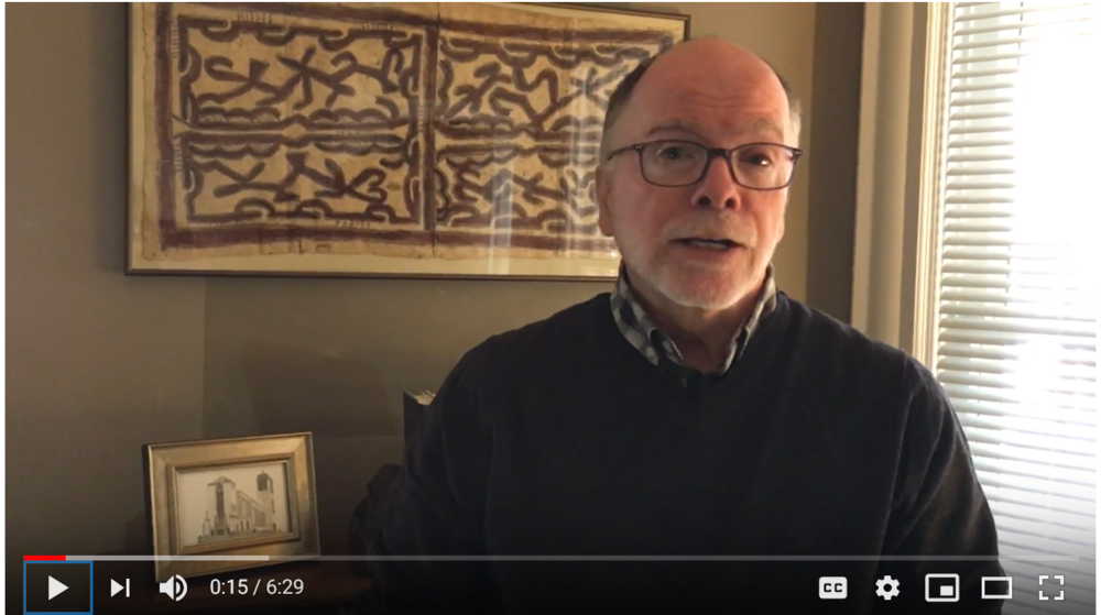Click on the picture above to watch Bishop Doug's video.