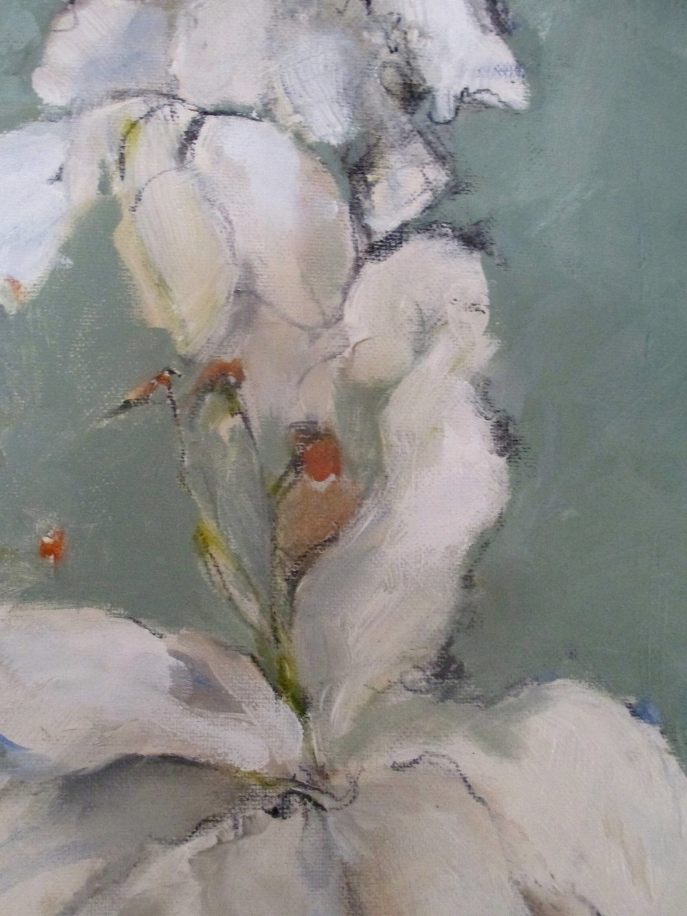 close up to painting....A Gift