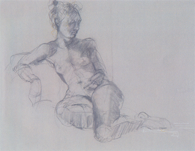 Life Drawing Classes - Gesture, anatomy, and development of charcoal drawing skills.Special private instruction if student requires basics of anatomy.Model fee not included.