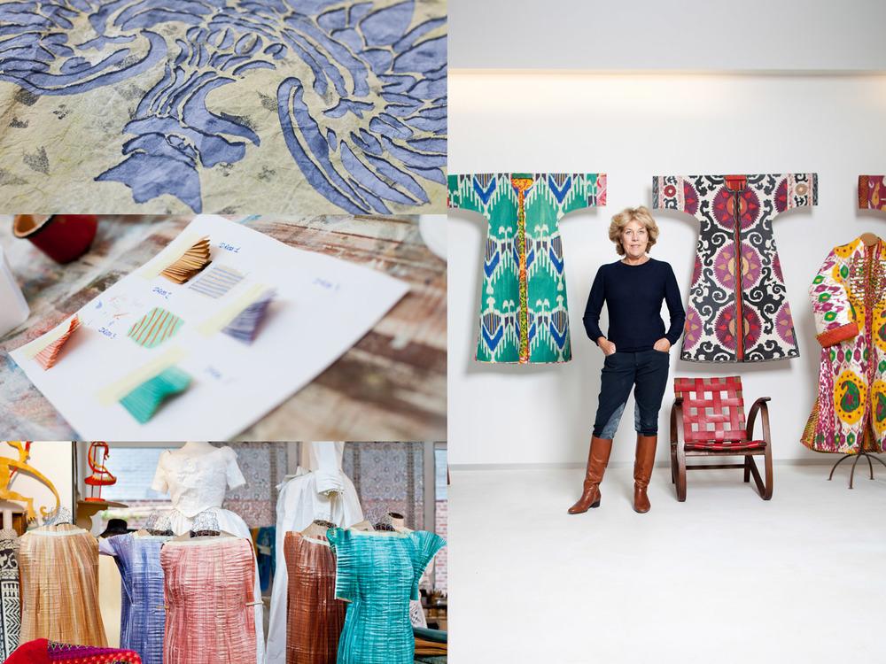 portrait textile