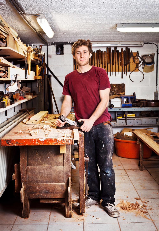 portrait carpenter