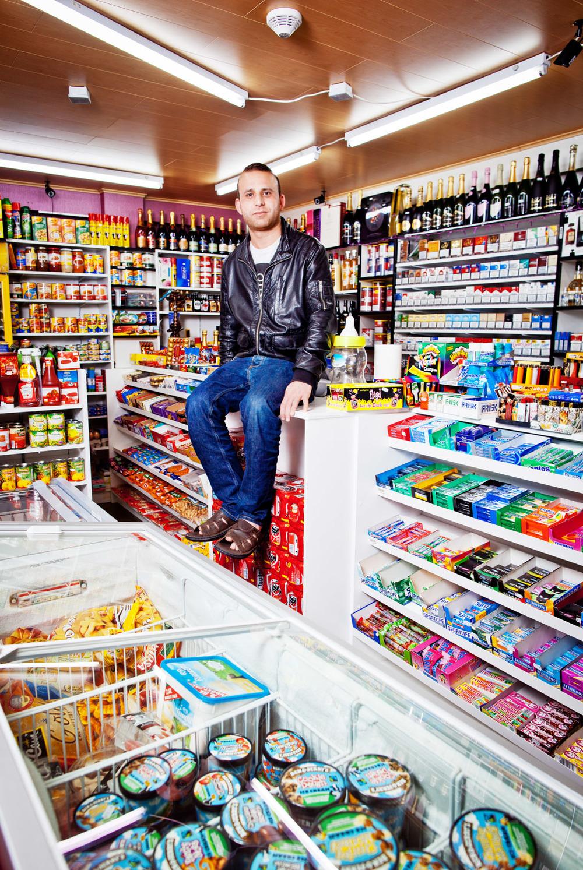 portrait grocery