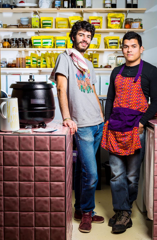 portrait restaurant owners