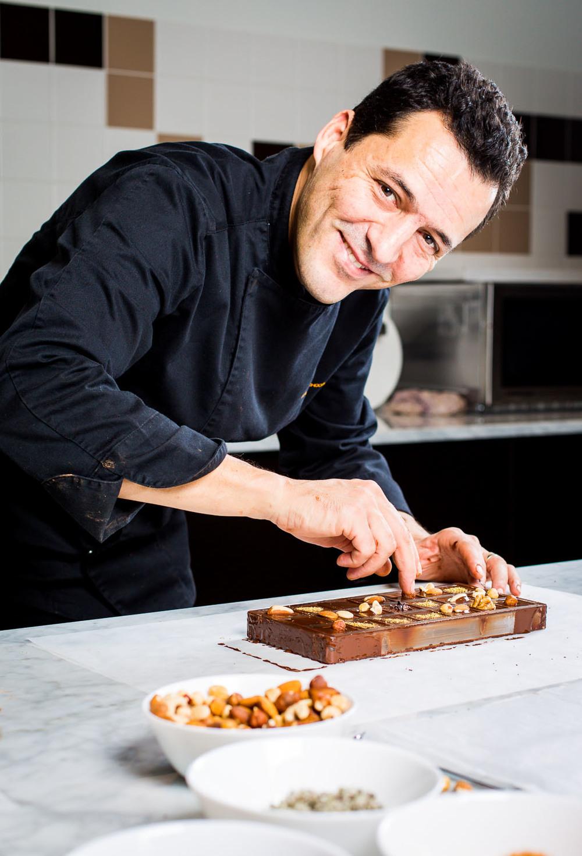 portrait chocolate maker