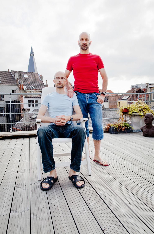 portrait gay couple