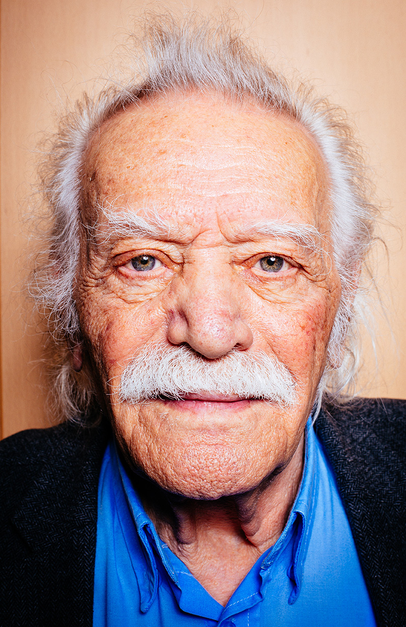 Manolis Glezos - oldest member of the European Parliament. For Der Spiegel magazine nataliehillphotography.com