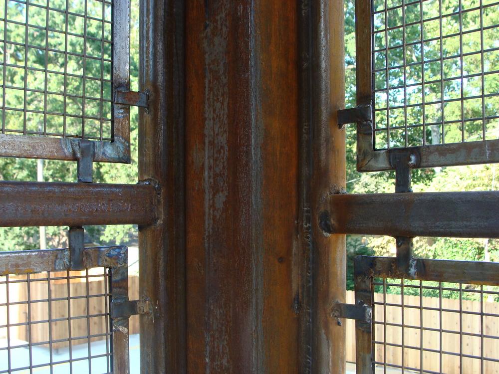 Tecumseh Lofts - Handrail detail