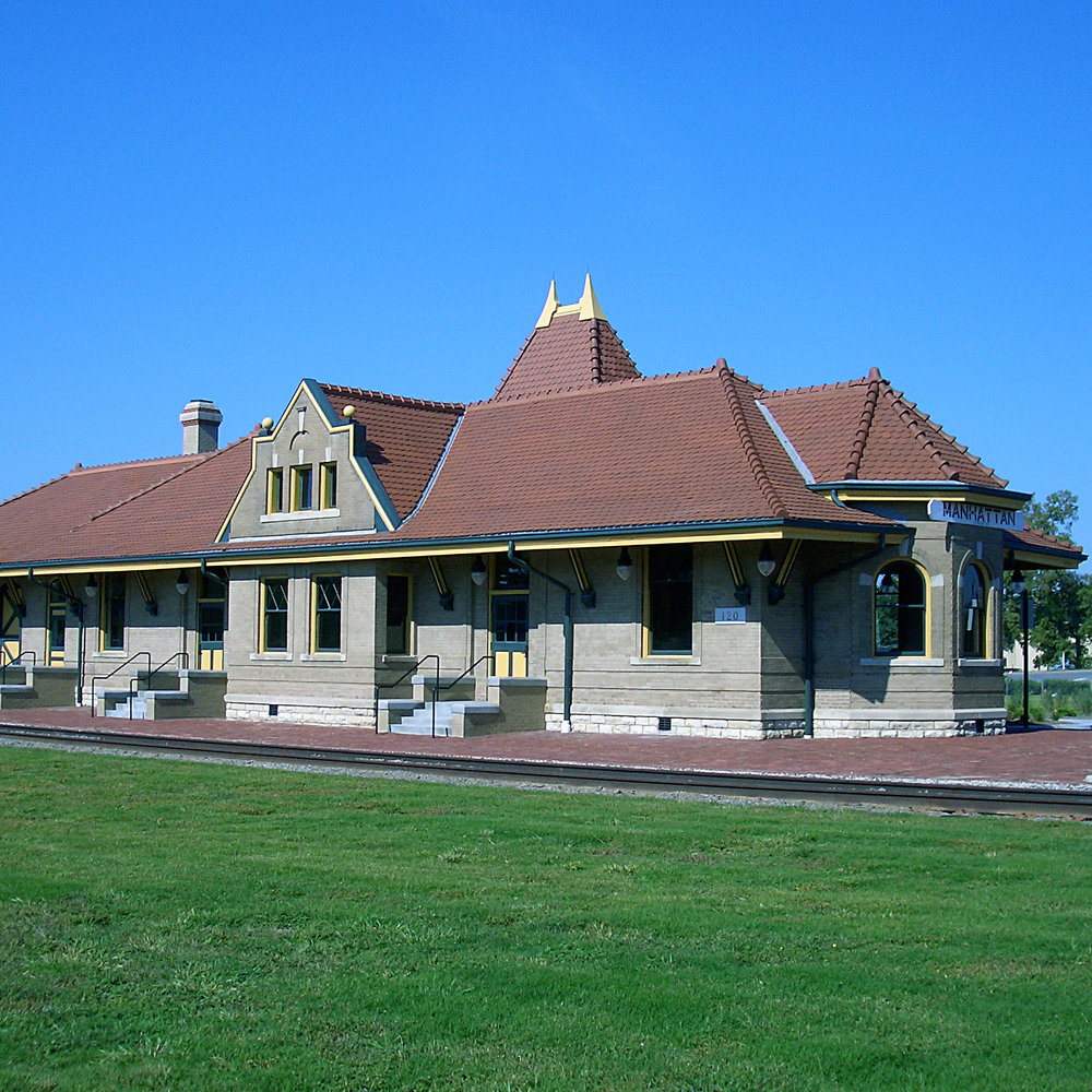 Union Pacific Train Depot